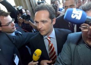 El ministro de Justícia alemán, Heiko Maas.