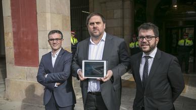 Els tres pilars del departament d'Oriol Junqueras