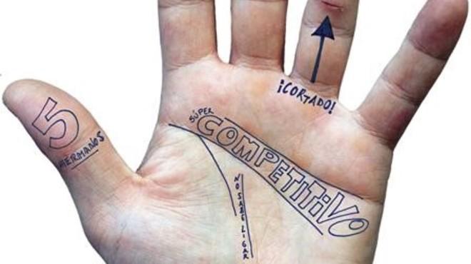 Per conèixer Jordi Cruz com la palma de la seva mà