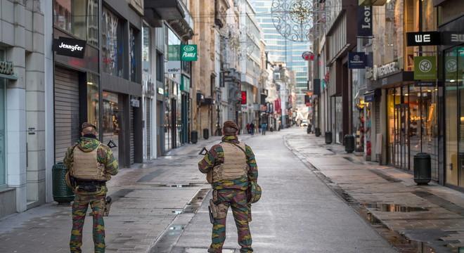 Brussel·les, una ciutat fantasma