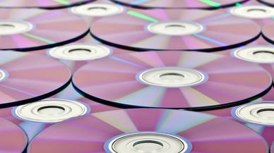 Menys d'un 1% dels espanyols graven sèries o pel·lícules en DVD