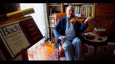 «Cuando probé el violín, su sonido me enamoró»