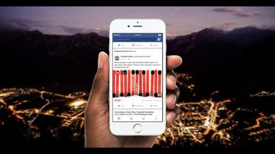 Facebook introdueix la retransmissió d'àudio en directe