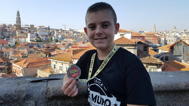 Un jove ballarí de Gavà, subcampió d'Europa de 'hip-hop'