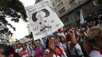 Los maestros argentinos desafían a Macri en las calles