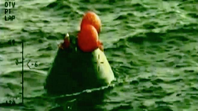 Orion amara al Pacífic després del seu primer viatge de prova a l'espai
