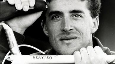 Perico Delgado, en una imagen de sus tiempos en activo.
