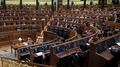 Reuni�n del pleno del Congreso de los Diputados de este martes.
