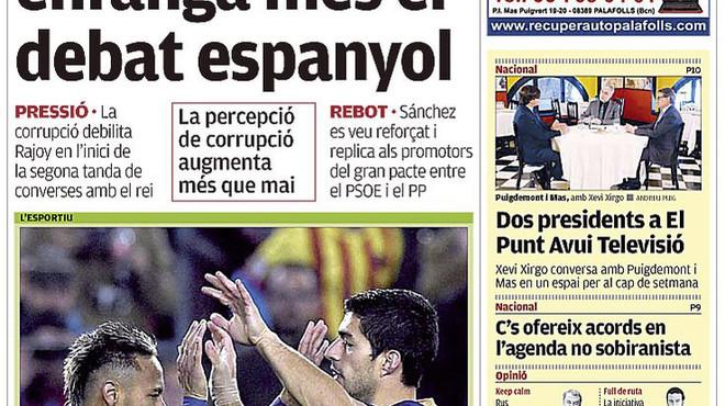 Felip demana una entesa PP-PSOE; Marhuenda, que el Rei dissolgui les Corts sense investidura