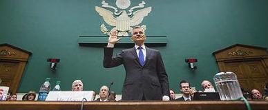 El presidente de Volkswagen en EEUU, Michael Horn, en la C�mara de Representantes.