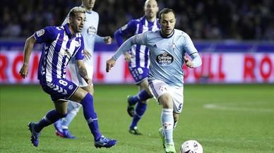 L'Alabès guanya el Celta i es veurà amb el Barça a la final (1-0)