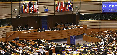 Un pleno del Parlamento Europeo. EFE