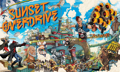 Sunset Overdrive es un 'shooter' exclusivo para la consola Xbox One