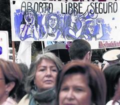 Partidaris de lavortament celebren el setembre a Madrid ladéu de Gallardón.