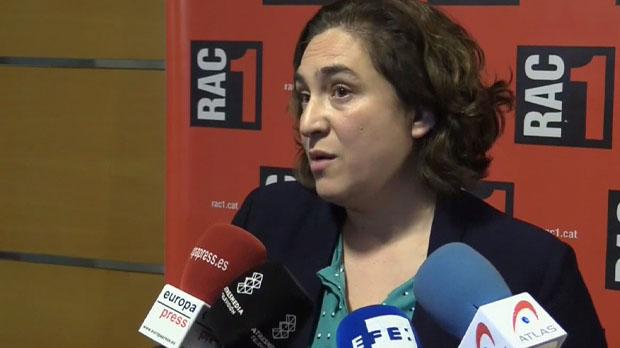 Colau justifica la ruptura del pacte dels comuns amb el PSC
