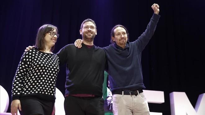 La nueva líder de Podem aboga por no confluir con los 'comuns' sino ir solo en coalición electoral