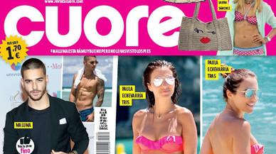 Paula Echevarría passa les vacances a Marbella i a Menorca