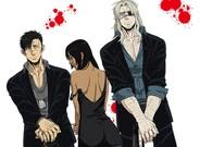 El tr�o de 'Gangsta': Nicolas, Alex y Worick.