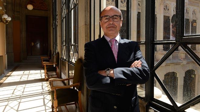 Entrevista con Jes�s Barrientos, presidente del Tribunal Superior de Just�cia de Catalunya.