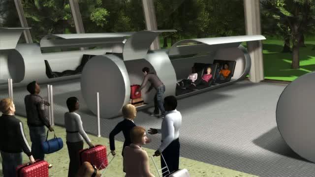 El tren del futur 1.200 km/h