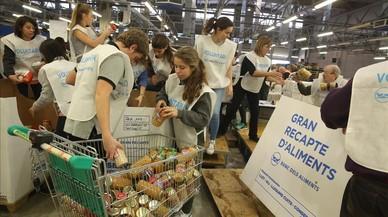 El Banc dels Aliments busca 25.000 voluntaris per al Gran Recapte