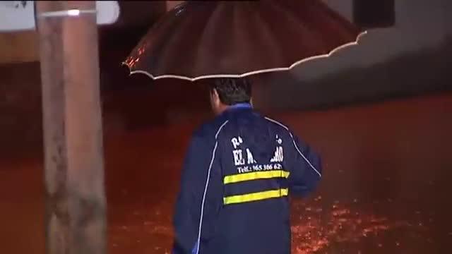 Un home mor ofegat a Múrcia arrossegat per les aigües del fort temporal