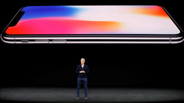 IPhone X, un móvil con reconocimiento facial y sin marcos