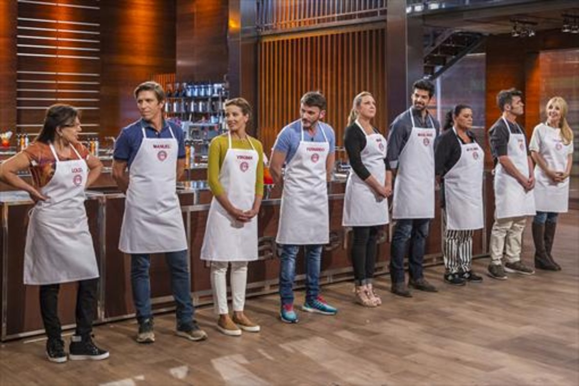39 masterchef celebrity 39 m s gracia y salero que concurso for Programas de cocina en espana