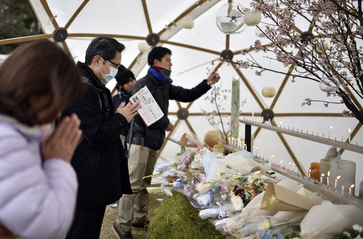 Homenaje silencioso en Japón a las víctimas del tsunami