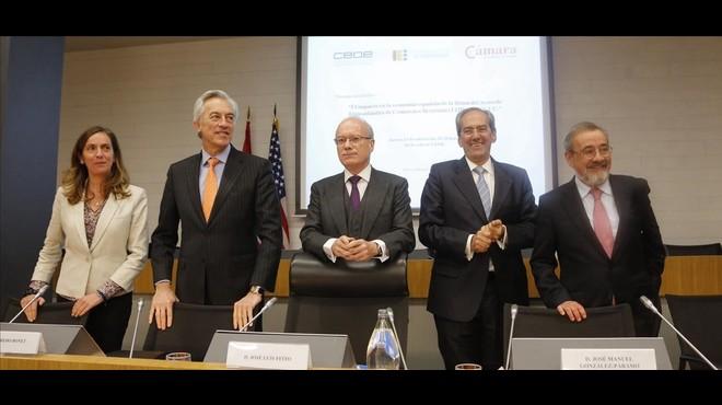 L'acord comercial amb els EUA beneficiarà tots els sectors espanyols llevat de l'automòbil