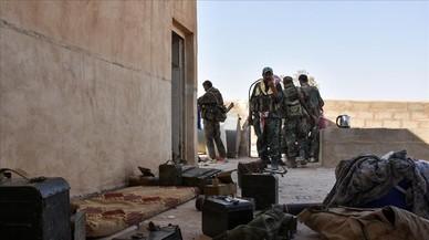 Les forces d'Assad, a punt de recuperar el feu gihadista de Deir Ez-Zor