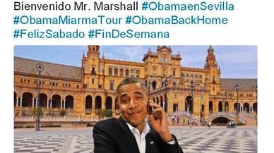 'Bienvenido Mr. Marshall', les burles a les xarxes per la cancel·lació del viatge d'Obama a Sevilla