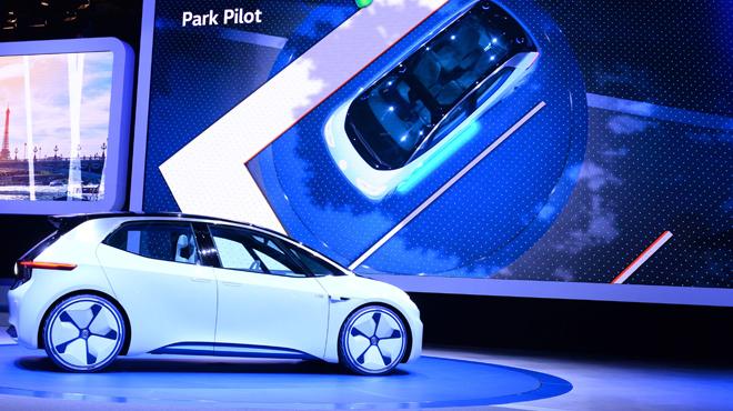 Presentaci�n del nuevo Volskwagen I.D. en el Sal�n de Paris