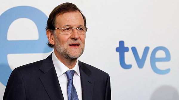Rajoy promete no tocar las pensiones, en una entrevista en TVE en septiembre pasado