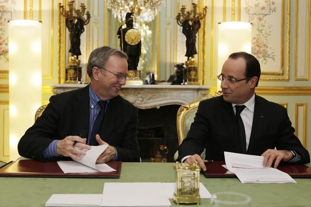 Google acuerda con Hollande remunerar a los editores de prensa en Francia