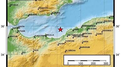 Melilla i Andalusia tremolen per un terratrèmol de magnitud 4,8 al Mediterrani algerià