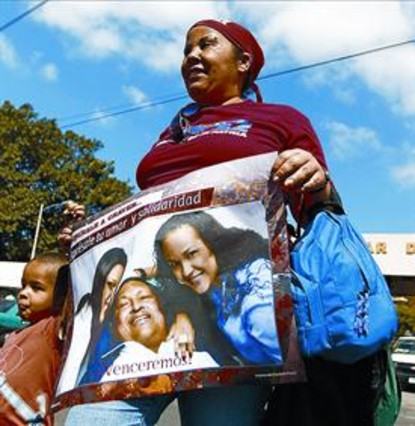 El Gobierno de Venezuela admite que Chávez no evoluciona bien