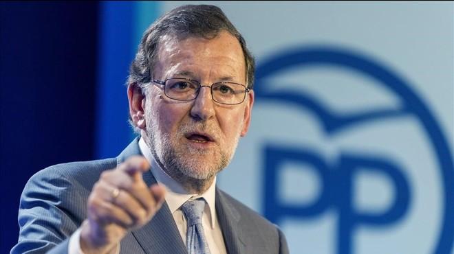"""Rajoy critica els parlaments basc i català per """"aplaudir terroristes"""""""