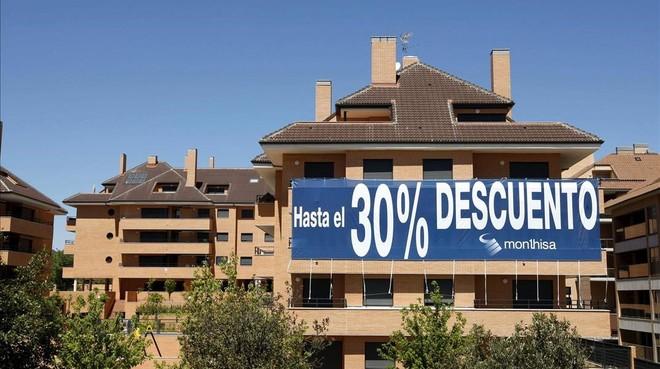 Viviendas en venta en Madrid.