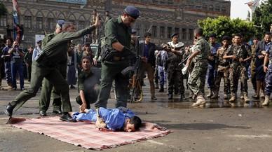 Brutal ejecución en Yemen