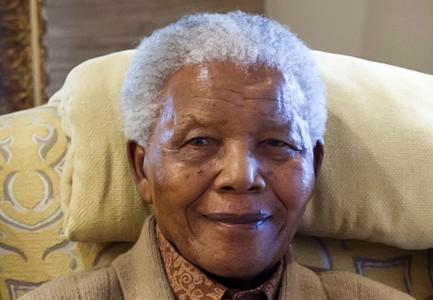 El expresidente Sudafricano Nelson Mandela, en julio del 2012.
