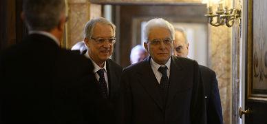 El juez del Constitucional Sergio Mattarella, nuevo presidente de Italia