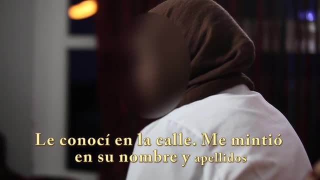 Una jove marroquina explica el seu cas