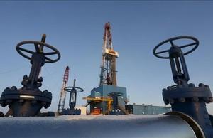 Instalaciones de Lukoil en Kogalym, Rusia.