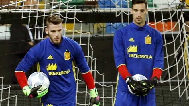 De Gea agafa avantatge sobre Casillas per a l'Eurocopa