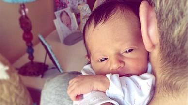 Soraya Arnelas presenta la seva primera filla, Manuela de Gracia
