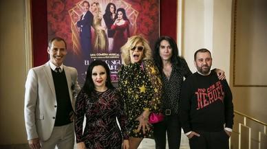 Bibiana, Manuel Bandera, Alaska i Mario Vaquerizo porten 'El amor sigue en el aire'