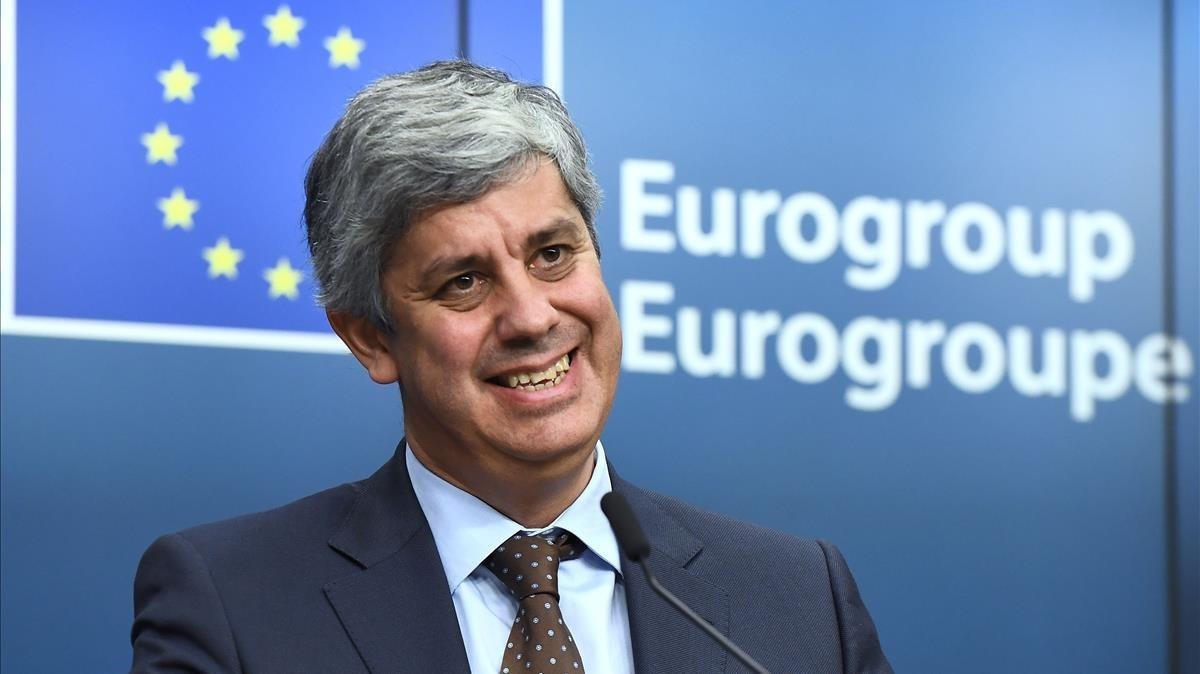 zentauroepp41189039 new eurogroup president portuguese finance minister mario ce171204181300