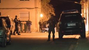 El operativo desplegado por la Guardia Civil en busca del asesino de tres personas en Teruel.