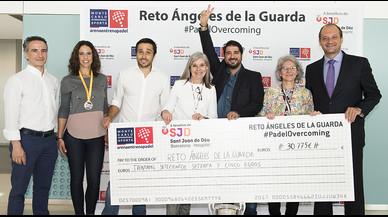 Antonio Orozco lidera una campaña que recauda 30.775 euros para el Sant Joan de Déu